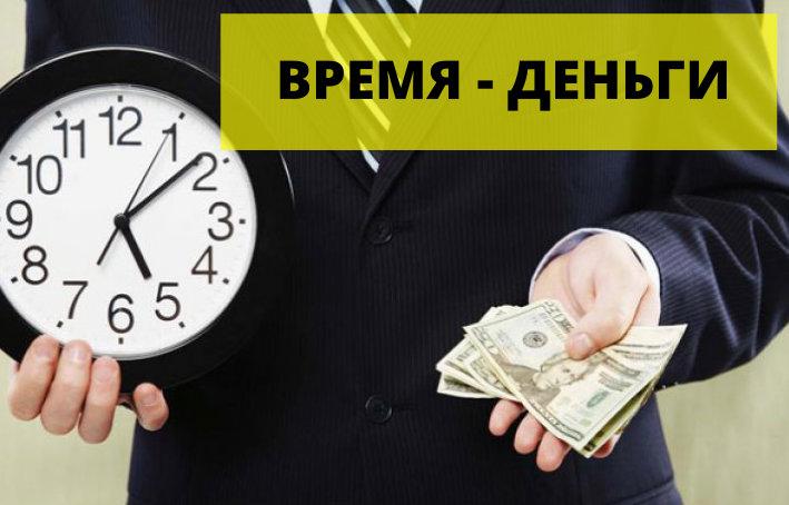 Экономия времени дизайн