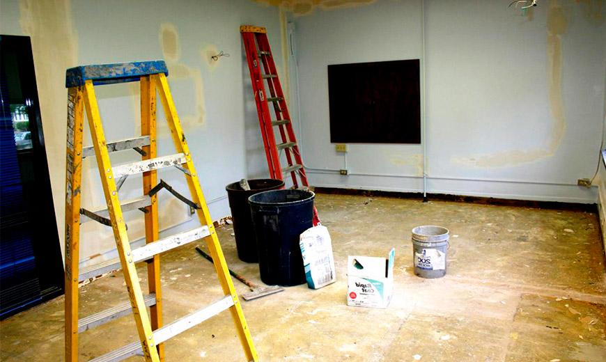 начало ремонта в новой квартире